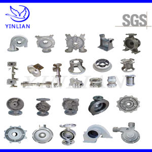 Stainless Steel Casting Pump Housing, Impeller for Hydraulic Pump