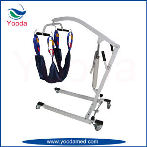 Steel Hydraulic Patient Lifts with Legs Adjustable pictures & photos
