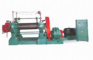 Rubber Sheeting Mill with Stock Blender / Xk-550 Rubber Mixing Mill