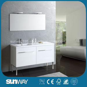 High Quality MDF Bathroom Cabinets with Sink (SW-1305) pictures & photos