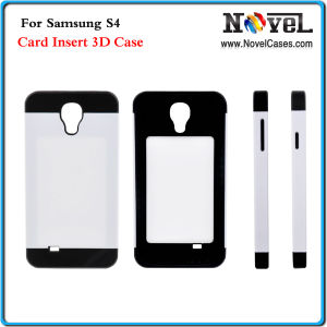 Card Insert 3D Sublimation Phone Case for Samsung S4