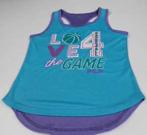 Girls′ Performa Tank Make of 100%Polyester