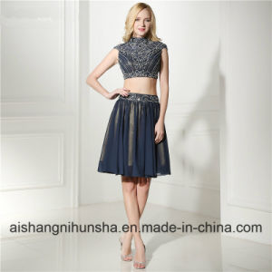416dbceb4a Elegant Short Homecoming Dress with Lace and Sequins Short Prom Dress