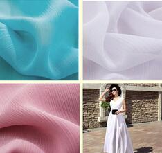 100d Lightweight Breathable Chiffon Fabric