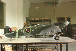 Arf RC Model Plane Full Composite Spitfire 30cc 81