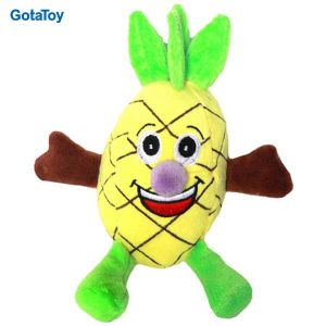 High Quality Custom Plush Pineapple Fruit Stuffed Soft Toy