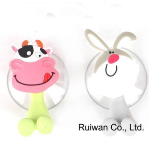 Animal Shape Silicone Kids Toothbrush Holder (TBH001) pictures & photos