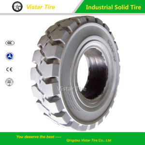 Best Quality Forklift Non Mark Solid Tyre pictures & photos
