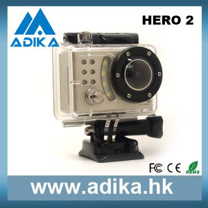 1080p Full HD Sport Camera with Waterproof Function