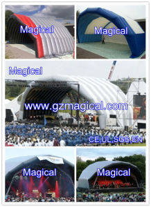 Commercial Square Inflatable Stage Cover (MIC-212) pictures & photos