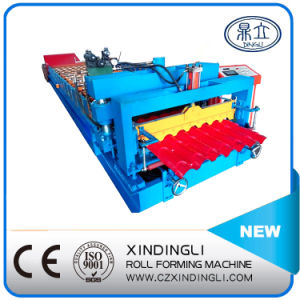 Color Steel Beautiful Profile Roll Forming Machine pictures & photos