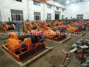 10ton Diesel Engine Anchor Winch for Marine Use Witch Brake and Clutch pictures & photos