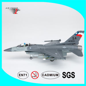 F-16c Plane Model with Die-Cast Alloy