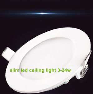 12W Round LED Panel Light Ultra-Slim LED Panel pictures & photos