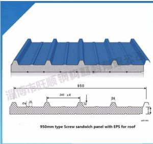 China Custom Corrugated Metal Roofing Sheet Insulated