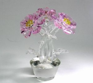 Crystal Wedding Favor Crystal Flower for Decoration or Gifts pictures & photos