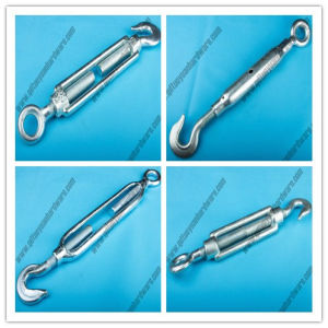 Marine Rigging Hardware Drop Forged Casting DIN 1480 Standard Wire Rope Turnbuckle pictures & photos