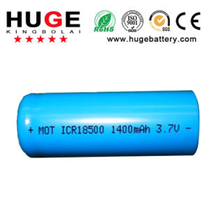 3.7V Icr18500 Rechargeable Li-ion Battery pictures & photos