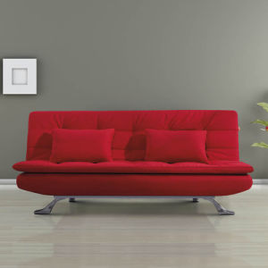 China Two Folded Fabric Sofabed For