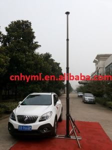 China 8m Car Portable Telescopic Mast Pole - China Car Mounted