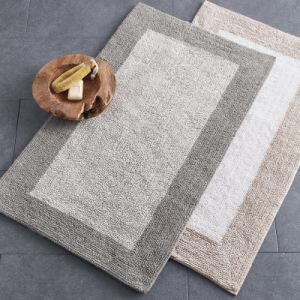 Bathroom Bath Mat Jacquard Rug
