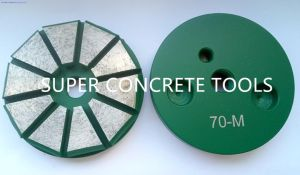 Polar Magnetic System Concrete Floor Surface Prep Polishing Tools