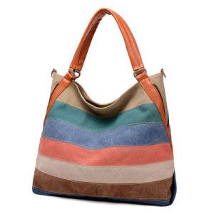 027957b538ac Vintage Canvas Female Bags Larger Women Bags Shoulder Bag Messenger Bag