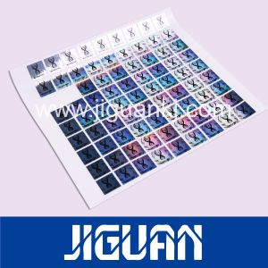Reliable Quality Custom Anti-Counterfeiting Self Adhesive DOT Matrix 3D Hologram Sticker pictures & photos