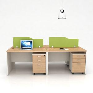 4 Person Modern Wooden Desk Office Furniture Exclusive Desks