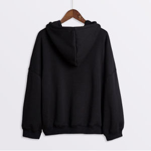 Black High Quality Hoodies Pullover Gym Hoodies pictures & photos