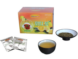 Lemon Black Tea Lemon Tea with Tea OEM Service