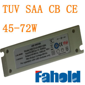 50~72W No Stroboflash LED Driver with TUV SAA CB CE