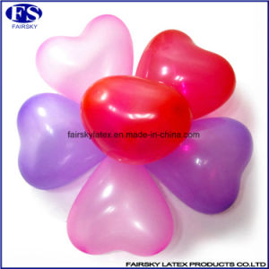 Logo Printed Custom Heart Shape Helium Balloon pictures & photos