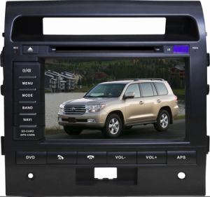 8 Inch Touch Screen Special Car DVD Player for Toyota Land Cruiser (left hand) with Bluetooth, GPS Navigation