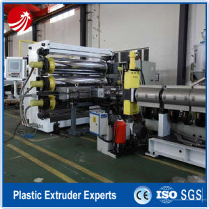 PE PP ABS Plastic Film Extrusion Production Line pictures & photos