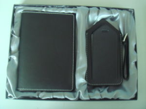 Leather Giftset, Luggage Tag and Passport Holder