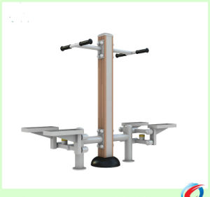 Plastic-Wood Stepper Outdoor Fitness Equipment pictures & photos