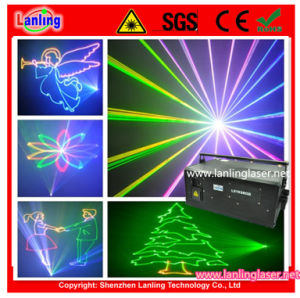Outdoor 15W RGB Animation Laser Logo Lighting pictures & photos