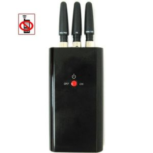 Handheld Full-Function CDMA/GSM/Dcs/Phs/GPS Cell Phone Signal Jammer pictures & photos