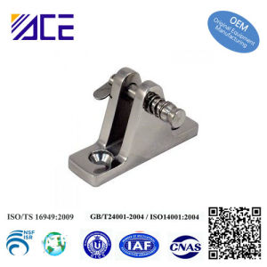 Stainless Steel Marine Hardware Ship Parts Deck Hinge pictures & photos