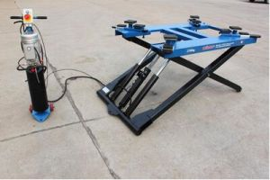 Single Post In Ground Car Lift Oil Service