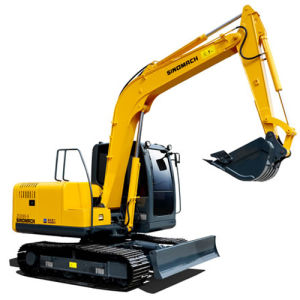 Mini Hydraulic Crawler Tracked Excavators with CE Certificate