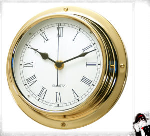 Gl198 Roman Dial 180mm Nautical Quartz Clock pictures & photos