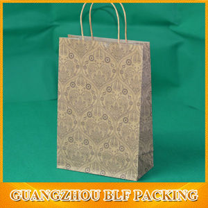 Printed Kraft Paper Bag pictures & photos