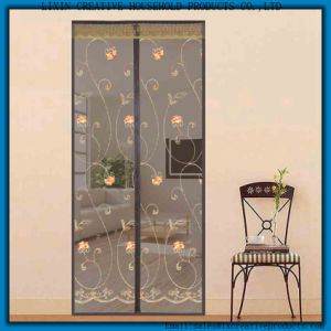 2017 Hand Free Magnetic Screen Net Magnetic Mesh Screen Door Hanging Fly  Screen Curtain