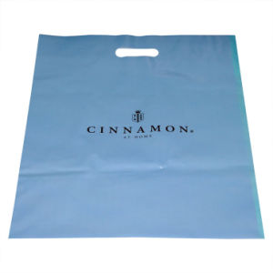 Virgin LDPE Material with Cutom Printed Plastic Bags for Shopping (FLD-8575)