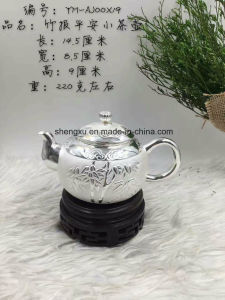 Chinese Popular Silver Using & Artwork Drinking Tea-Pot Sx-S5