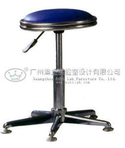 PU Leather Lab Stool with Adjustable Height