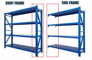 Warehouse Storage Metal Rack pictures & photos