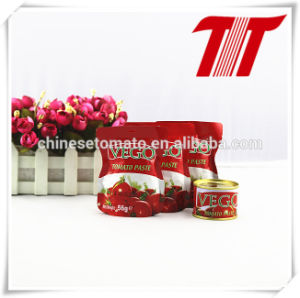 50g 56g 70g Sachet Tomato Paste pictures & photos